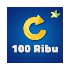 Pulsa XL 100 Ribu