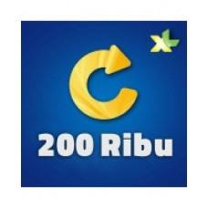 Pulsa XL 200 Ribu