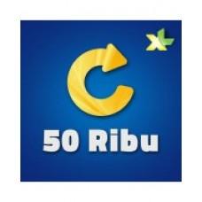 Pulsa XL 50 Ribu